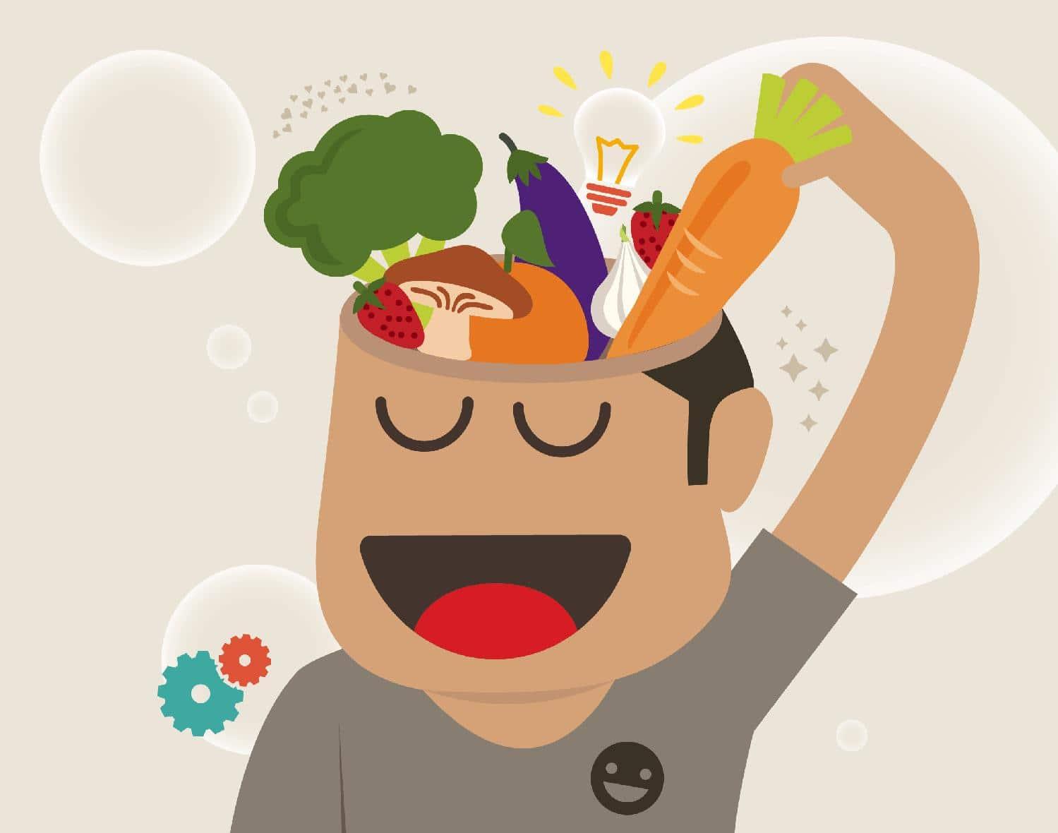 Una dieta completa = una mejor disposición mental.