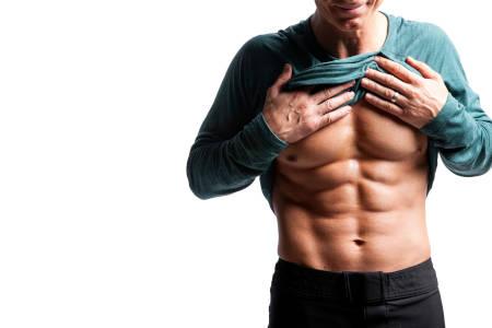 Trabajando músculo, quemamos esa grasa fastidiosa