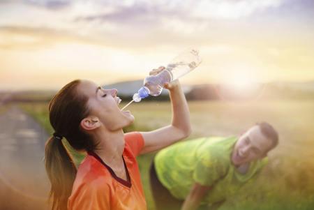 Con ejercicio e hidratación, no hay manera en que falles.