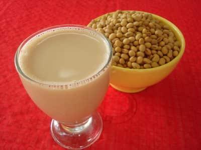leche de soya engorda