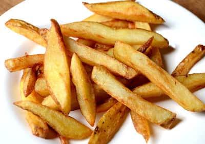 Papas fritas: un placer que debes moderar al máximo