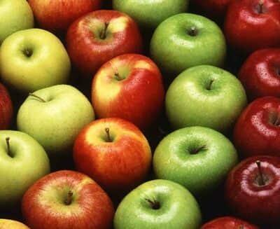 manzanas calorías