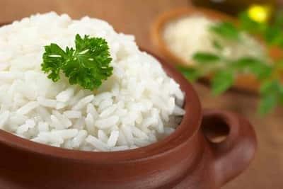 El arroz engorda