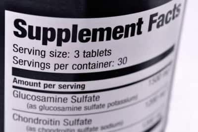 Glucosamine engorda